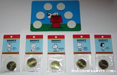 Snoopy Collector Coins