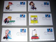 Peanuts First Day Covers
