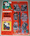 Peanuts & Snoopy Painted Ornament Kits