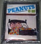 Linus, Snoopy & Charlie Brown sleeping in bed Crewel Stitchery Kit