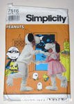 Snoopy and Belle Plush Costume kid's clothing pattern