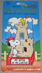 Snoopy & Woodstock with Sand Castle Switch Plate