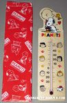 Snoopy hugging Charlie Brown Wooden Thermometer