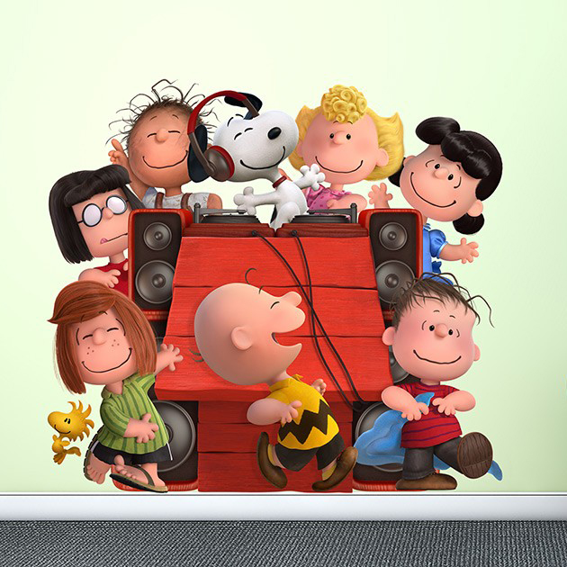 Peanuts Wall Decals from Wall-Ah!