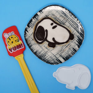 Snoopy Cookie Cutter & Spatula from ICUP
