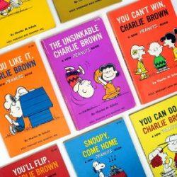 Click to shop Peanuts cartoon books