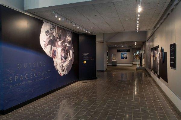 Spacecraft Exhibit Celebrates 50 Years Of