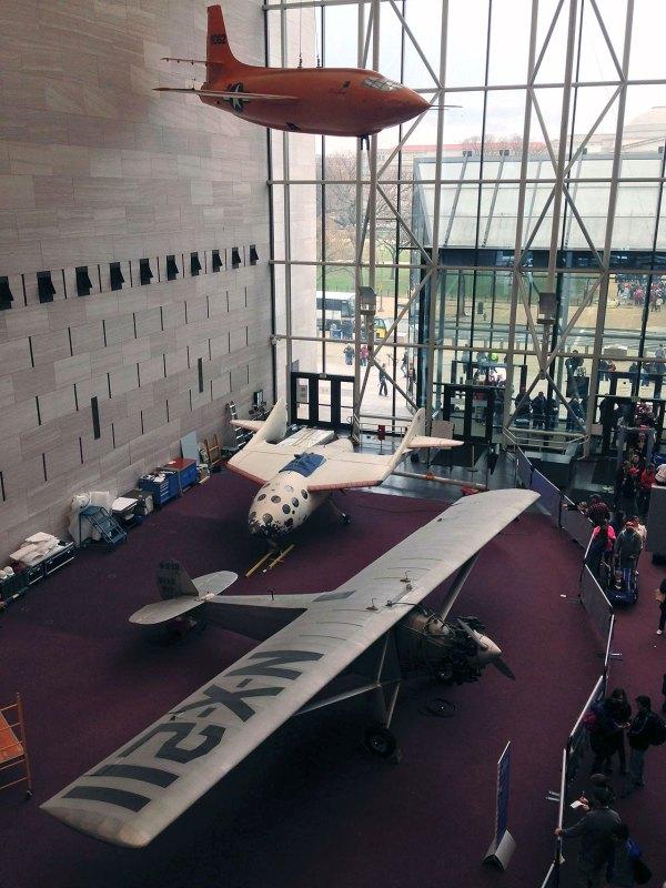 Spaceshipone Lowered Floor Air And Space Museum