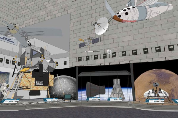Smithsonian Plans -night Celebration Mark Air And