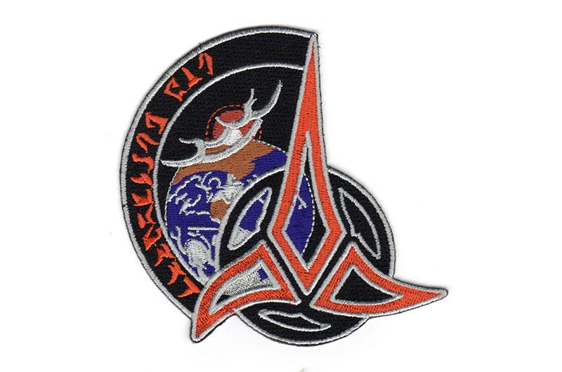 astronaut s cloaked klingon