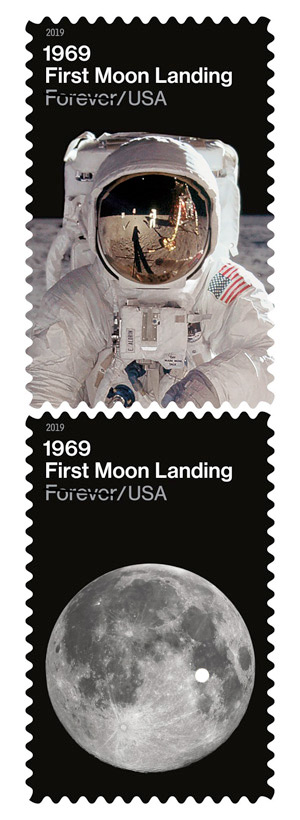 usps 1969 first moon