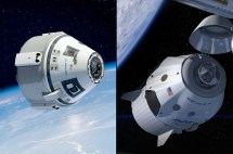 Nasa Selects Boeing Spacex Capsules Fly Astronauts