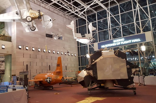 Apollo Lunar Module Lands In Smithsonian 'milestones Of