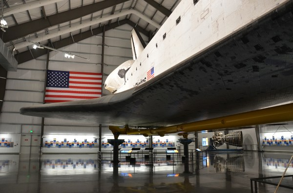 Space Shuttle Endeavour California Science