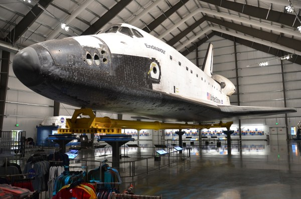 Space Shuttle Endeavour Exhibit Opens California