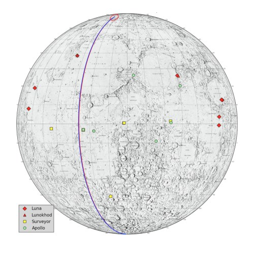 small resolution of locations on the moon considered lunar heritage sites and the path nasa s grail probes took on their final flight nasa jpl
