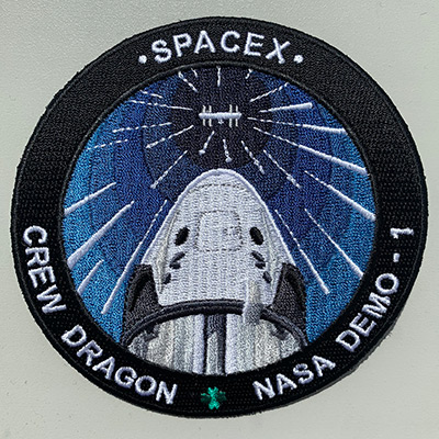 SpaceX Crew Dragon Demo-1 patches - collectSPACE: Messages