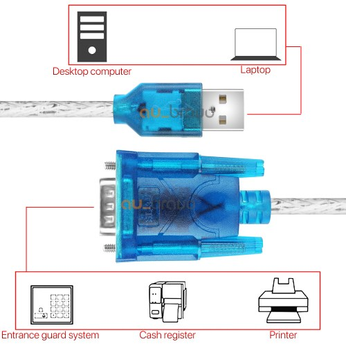 small resolution of usb to 9 pin rs232 cable com port serial adapter 2 0
