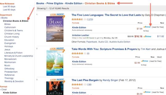 Lendable Christian Kindle Books