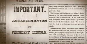Newseum Video - Lincoln Assassination