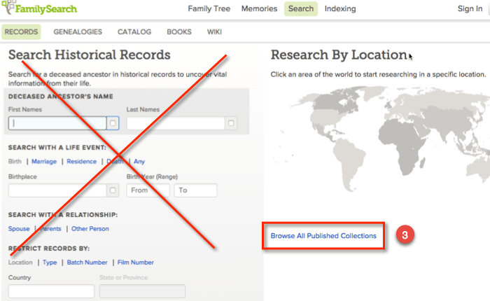 FamilySearch Digitized Mexico Records