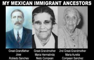 My Mexican Immigrant Ancestors