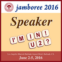 JGenealogy Jamboree 2016 Speaker Badge
