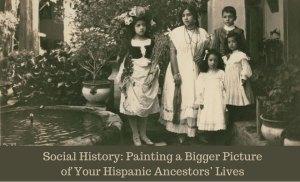 Hispanic Social History Lecture