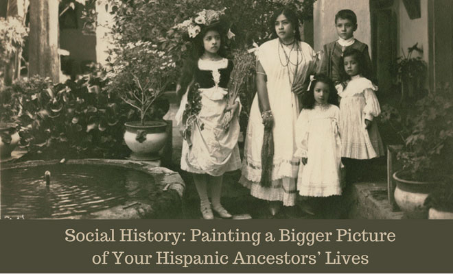 I am Speaking about Social History for Genealogy in Whittier, California on Saturday, March 17th