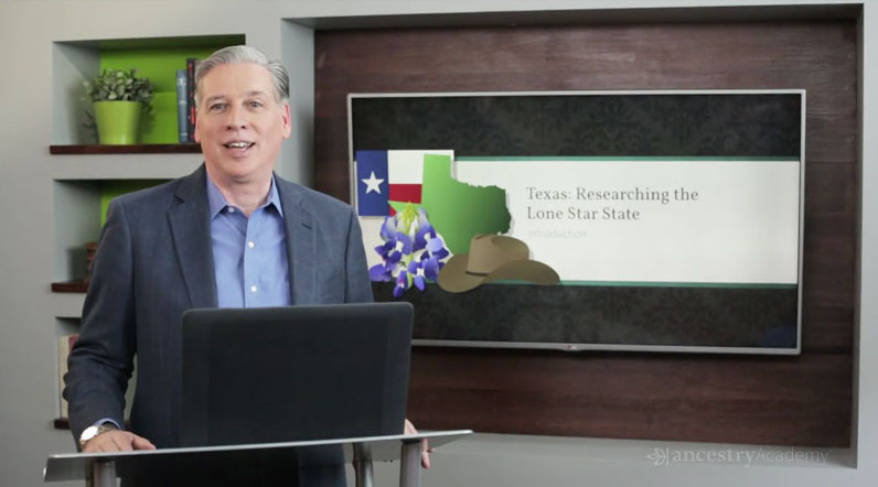 Ancestry Academy Texas Research Course