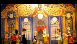 Guignols-puppets at Jardin du Luxembourg