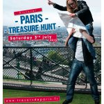 Official poster for the Paris Treasure Hunt 2010