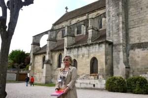 Anne Claire Saintier-Bekkers tour guide Auver-sur-Oise