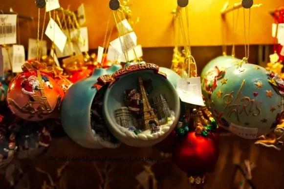 La Colomberie Christmas a Paris ornaments - Christmas Decorations With A Paris Theme Colleen's Paris