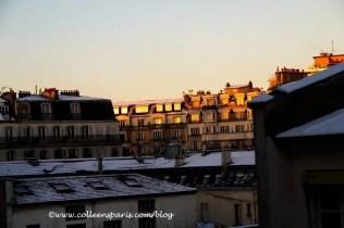 Morning after Paris snow, December 10, 2010