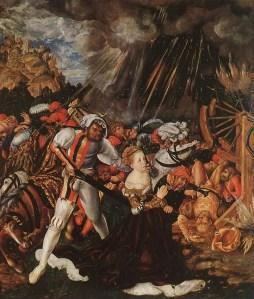 Le martyre sainte Catherine - Saint Catherine the martyr - Lucas Cranach