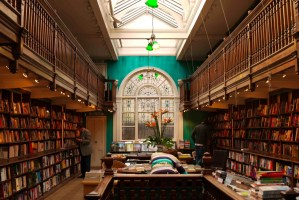 Daunt Books Marleybone store for travel guides and travel non-fiction