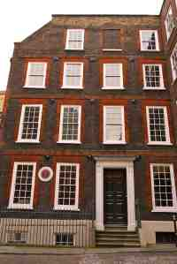 Dr. Johnson's House, London, front exterior