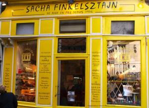 Sacha Finkelszatajn Yidddish and Russian gastronomie Paris