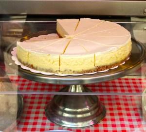 cheesecake from Schwartz's Deli with Philadelphia Cream Cheese
