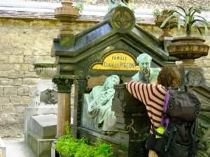 Charles Pigeon, Montparnasse Cemetery, inventor non-exploding gas lamp