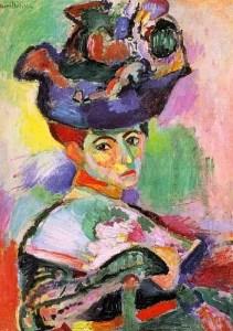 Femme_au_Chapeau-1905 - internet photo-Matisse