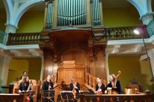 Le Concert des Planètes - Viol (viola da gamba) and orgue positif