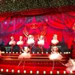 Printemps Christmas 2011 Chanel Ballet dancers in Paris