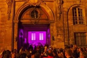 Rue de Francs-Bourgeois Nuit Blanche 2011 Purple Rain