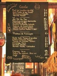 Generic Parisian ardoise-blackboard