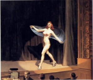 Edward Hopper, Girlie Show
