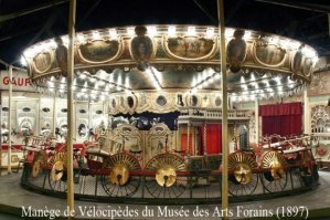 Musée Arts Forains - Manège de Vélocipèdes - Individual visits end of year and Patrimoine days