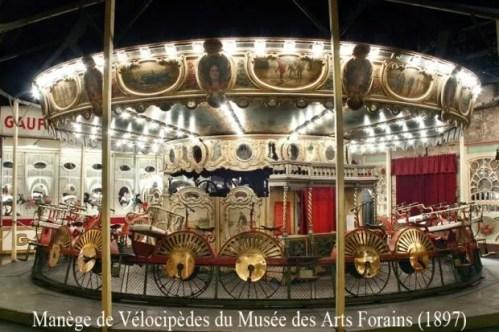 Musée Arts Forains - Manège de Vélocipèdes - Individual visits end of year and Patrimoine days