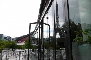 Restaurant Les Ombres, Musée Quai Branly